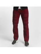 Southpole Straight Fit farkut Tuscon Slim punainen
