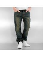 Southpole Straight Fit Jeans Flex blå