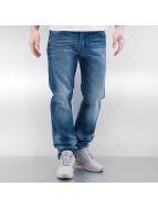 Southpole Straight Fit Jeans Flex Wash blau