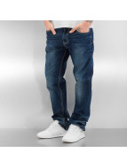 Southpole Straight fit jeans Flex blauw