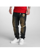 Southpole Straight fit jeans Tinted Wash blauw