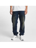 Southpole Straight fit jeans Slim blauw