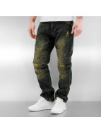 Southpole Straight Fit Jeans Biker blue