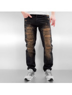 Southpole Straight Fit Jeans Ripped Slim blue