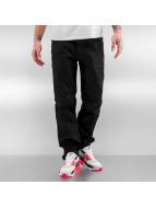 Southpole Straight Fit Jeans Vernon svart