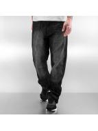 Southpole Straight Fit Jeans Deacon svart