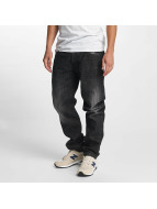 Southpole Straight Fit Jeans Slim svart