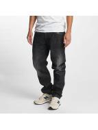 Southpole Straight fit jeans Slim zwart