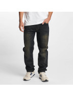 Southpole Straight fit jeans Slim zwart