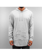 Southpole Sweat à capuche Cut gris