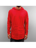 Southpole Sweat à capuche Cut rouge