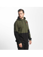 Southpole Sweat capuche Patch olive
