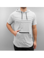 Southpole T-Shirt Hooded gris