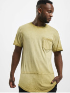 Southpole T-shirt Scallop oliv