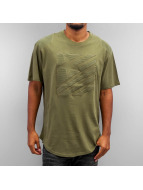 Southpole T-Shirt Star olive
