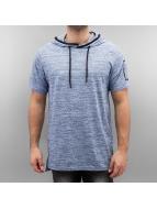 Southpole T-Shirts Slub Scallop Hoody mavi