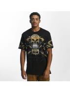 Southpole T-Shirty Skull czarny