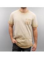 Southpole T-skjorter Scallop beige