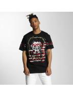 Southpole T-skjorter Embo Technique Foil Print svart