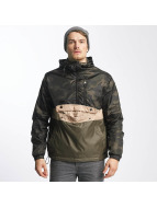 Southpole Übergangsjacke Colorblock Anorak camouflage