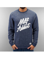 Space Monkeys Pullover Milf Addict blau