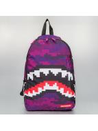 Sprayground Backpack Pixel Shark purple