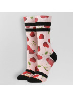 Stance Chaussettes Cherry Bomb rose