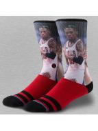 Stance Chaussettes NBA Rodman rouge