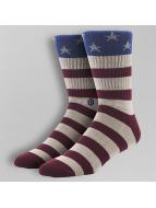 Stance Ponožky The Fourth èervená