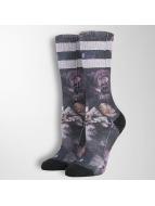 Stance Socks Dark Blooms black