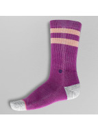 Stance Socks Plain Jane rose