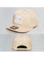Starter Snapback Cap Icon Logo khaki