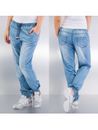 Stitch & Soul Cargo Nohavice Pants modrá