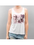 Stitch & Soul Hihattomat paidat Sun Of A Beach valkoinen