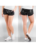 Stitch & Soul Shortsit Pailleten musta