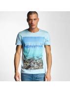 Stitch & Soul T-Shirt Ibiza blau