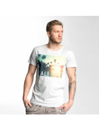 Stitch & Soul T-Shirt California grau