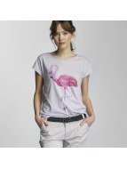 Stitch & Soul T-Shirt Flamingo pourpre