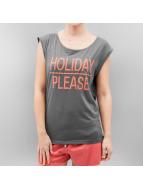 Stitch & Soul T-skjorter Holiday grå