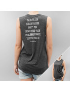 Stitch & Soul Tank Tops Poetry szary