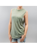 Stitch & Soul Tanktop Poetry groen