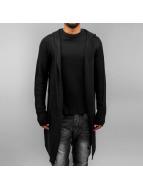 Stitch & Soul vest Long zwart