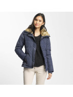 Stitch & Soul winterjas Stand Up Collar blauw