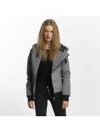 Sublevel Демисезонная куртка Asymmetric серый
