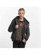 Sublevel Демисезонная куртка Asymmetric черный