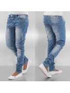 Sublevel Boyfriend jeans Used blå