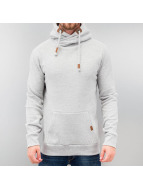 High Neck Hoody Grey Mel...