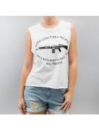 Sublevel Hihattomat paidat Guns Don't Kill People valkoinen