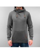 Sublevel Hoody High Neck grau