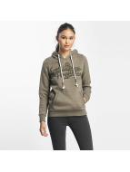 Sublevel Hoody Love Peace Happiness olijfgroen
